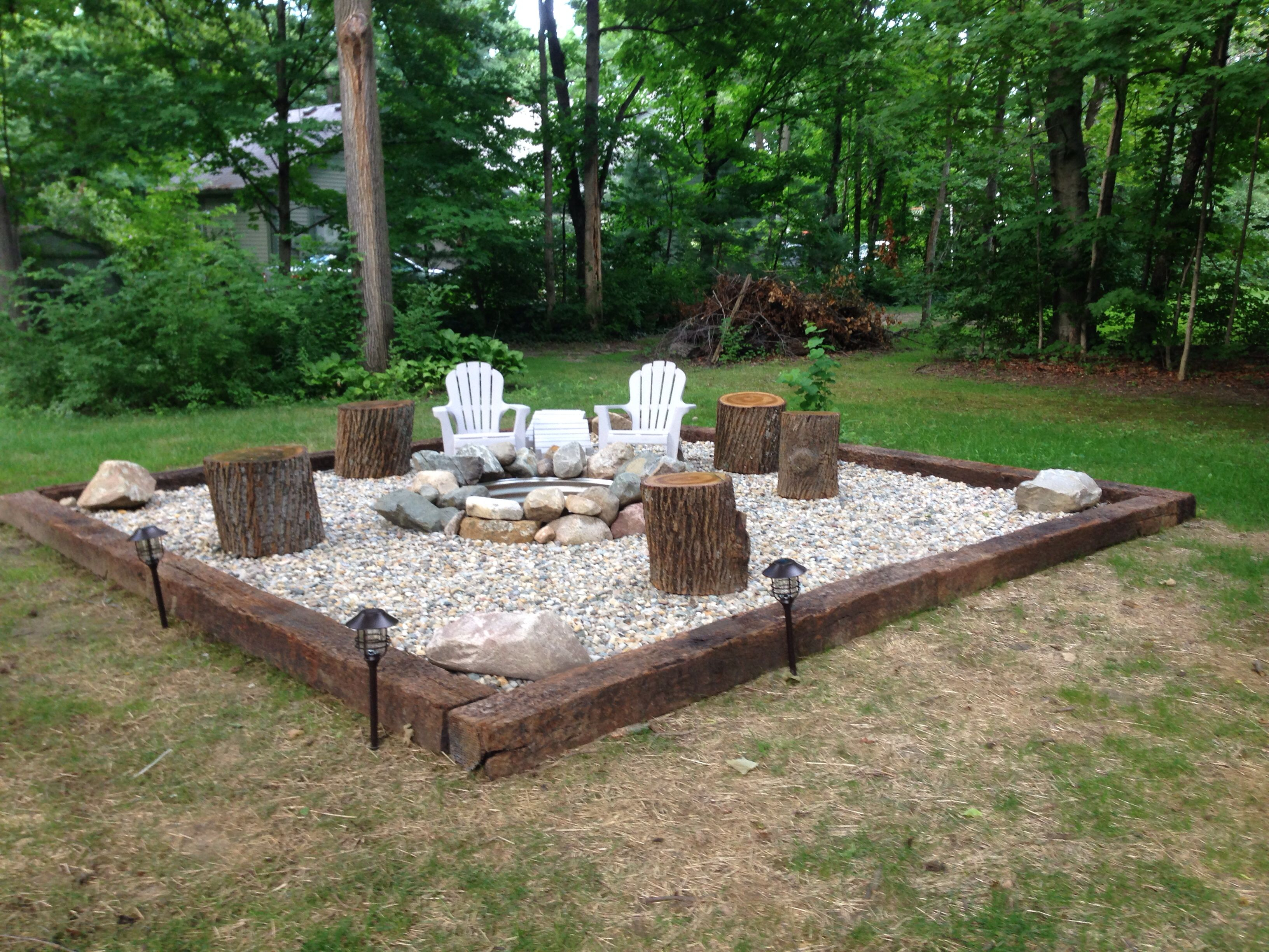 Inspiration For Backyard Fire Pit Designs Patio Designs in sizing 3264 X 2448