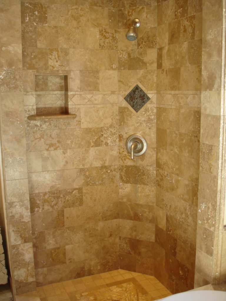 Is Travertine Good For Bathrooms And Showers Sefa Stone inside proportions 768 X 1024