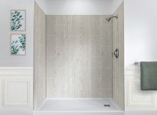 Jetcoat 60 X 32 Five Panel Shower Wall System Foremost Bath with sizing 1000 X 1000