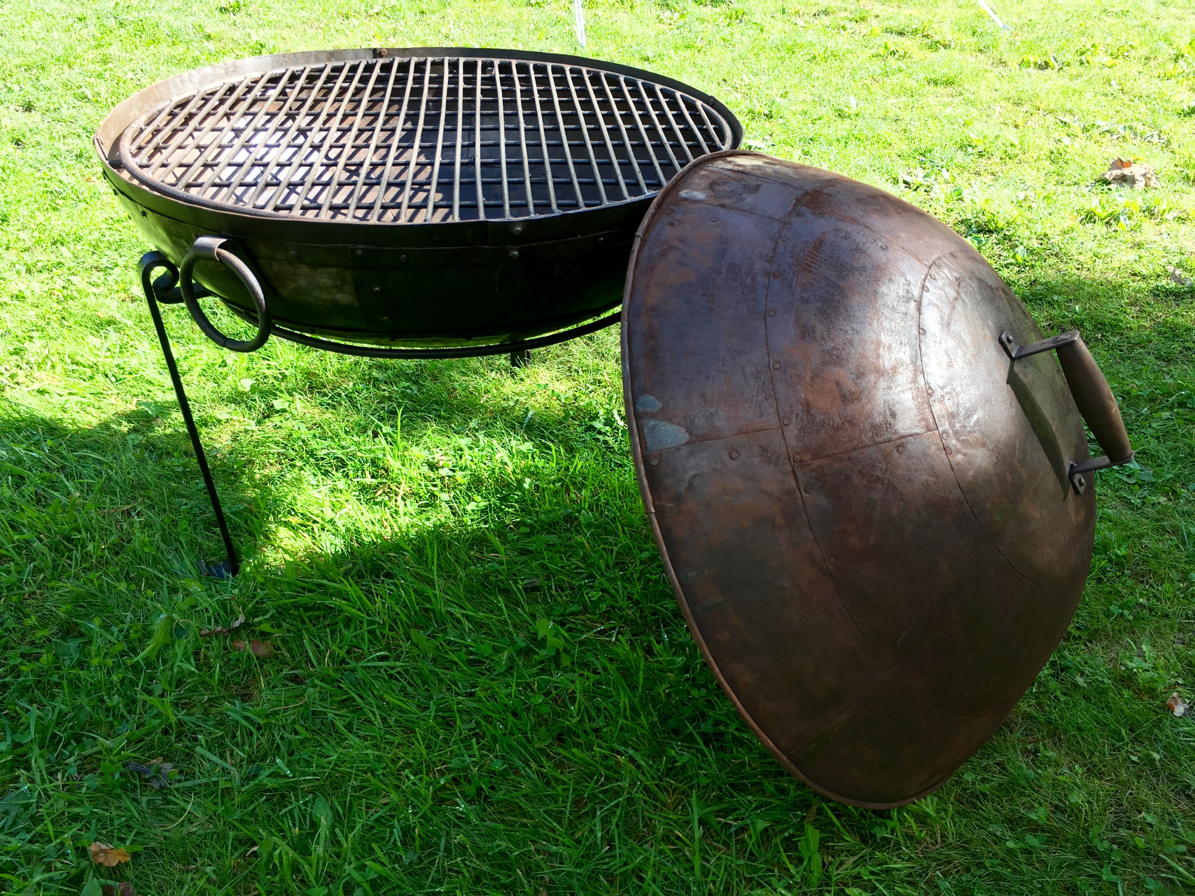 Kadai Fire Bowl Roasting Lid Karma Canvas with size 4032 X 3024