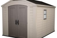 Keter Factor 8 Ft X 11 Ft Plastic Outdoor Storage Shed 211203 for dimensions 1000 X 1000