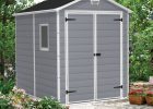 Keter Manor 6 Ft W X 74 Ft Plastic Storage Shed Reviews Wayfair in size 2970 X 2970
