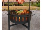 Landmann Fire Rock Fire Pit And Grill With Rotisserie 23960 with regard to dimensions 1600 X 1600