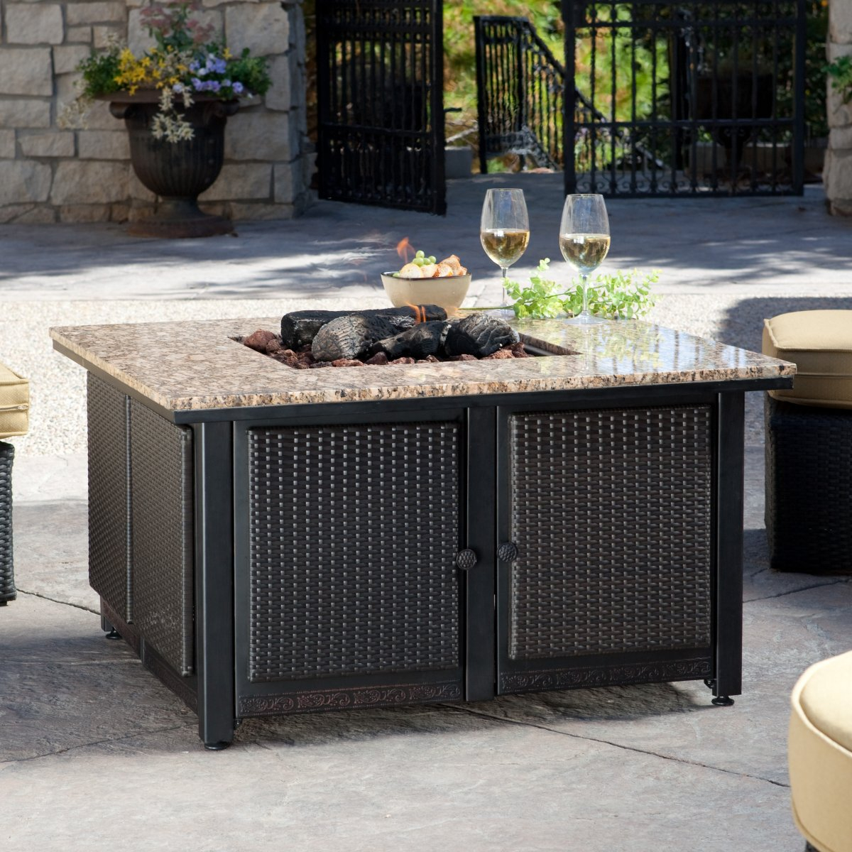Large Propane Fire Pit Table Design Idea And Decors Propane Fire pertaining to dimensions 1200 X 1200
