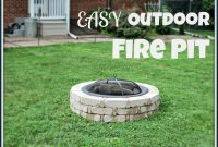 Lauras Plans Easy Outdoor Fire Pit inside dimensions 1600 X 1213