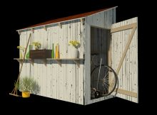 Lean To Shed Plans with sizing 900 X 900