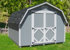 Little Cottage Company Classic Gambrel Solid Wood Storage Shed Wayfair inside proportions 1904 X 1911