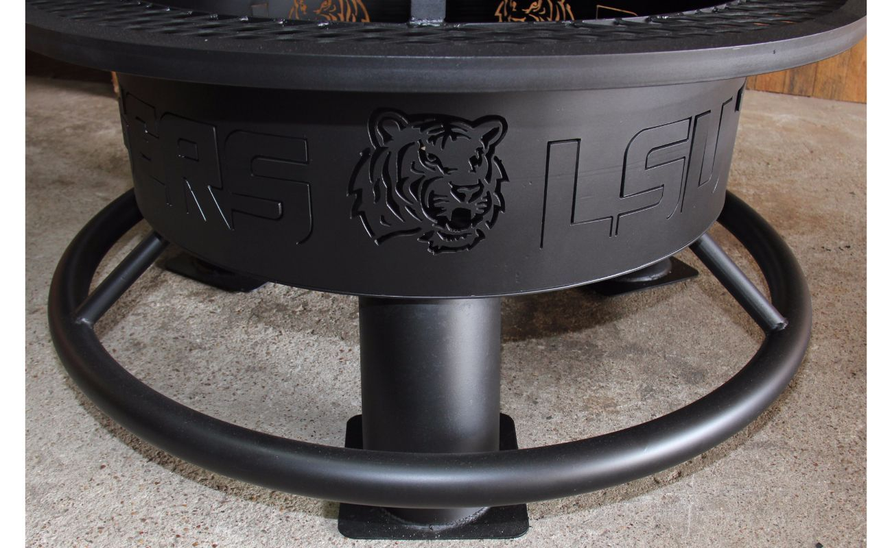 Lsu Custom Grill Tx Texas Dallas Austin Sanantonio Texasmade intended for sizing 1300 X 800