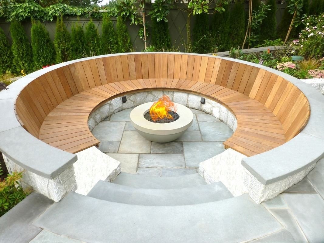 Magical Outdoor Fire Pit Seating Ideas Area Designs Intended For pertaining to size 1066 X 800