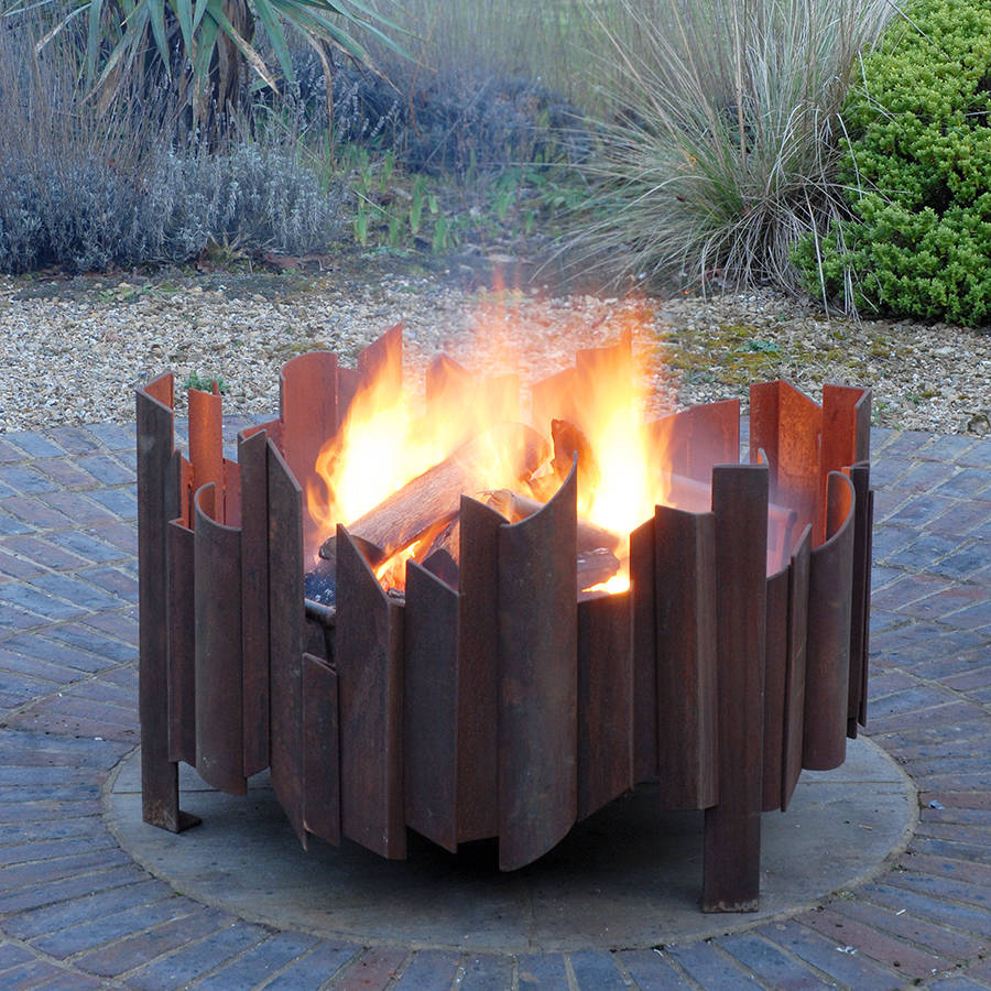 Magma Welded Steel Fire Pit Magma Firepits Notonthehighstreet throughout dimensions 900 X 900