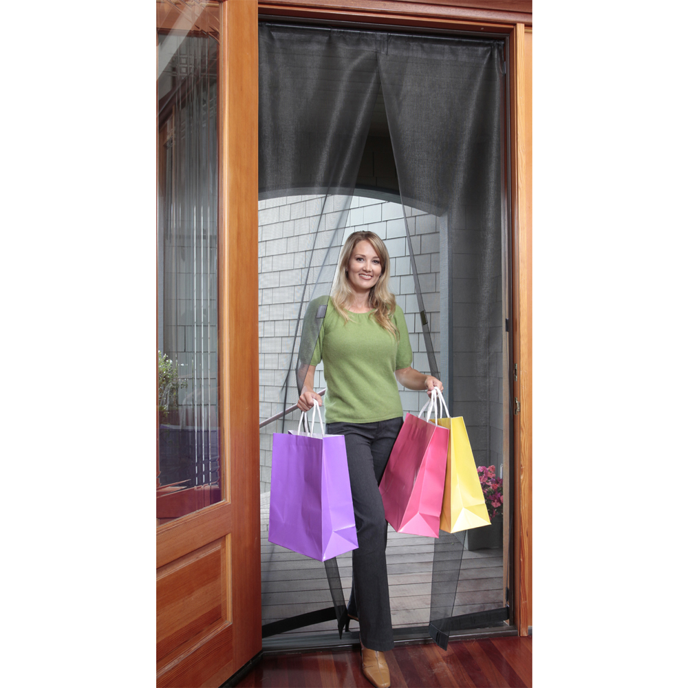 Magnetic Screen Door 32 X 96 Inch In Screen Doors throughout proportions 1000 X 1000