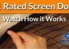Magnetic Screen Door Magic Mesh Screen Doors Retractable Door in dimensions 1280 X 720
