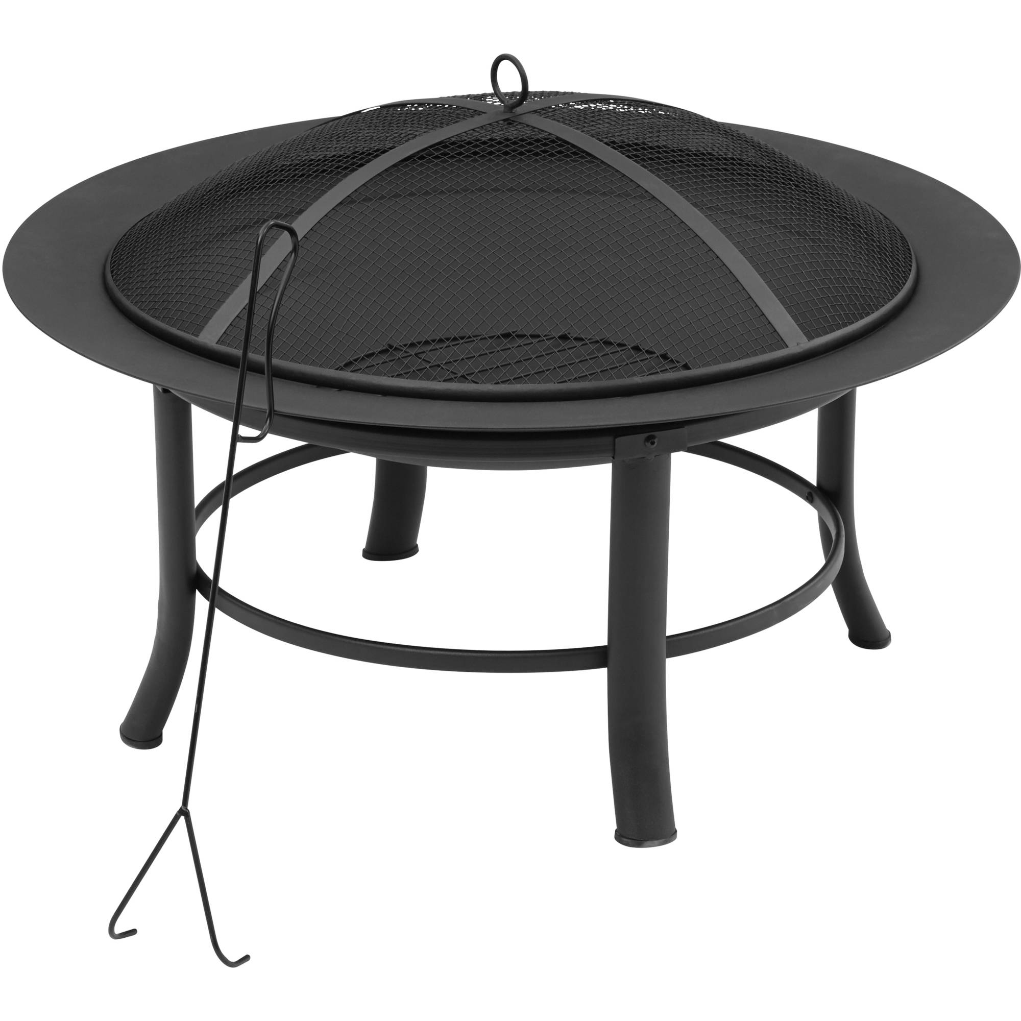 Mainstays 28 Fire Pit Walmart with measurements 2000 X 2000