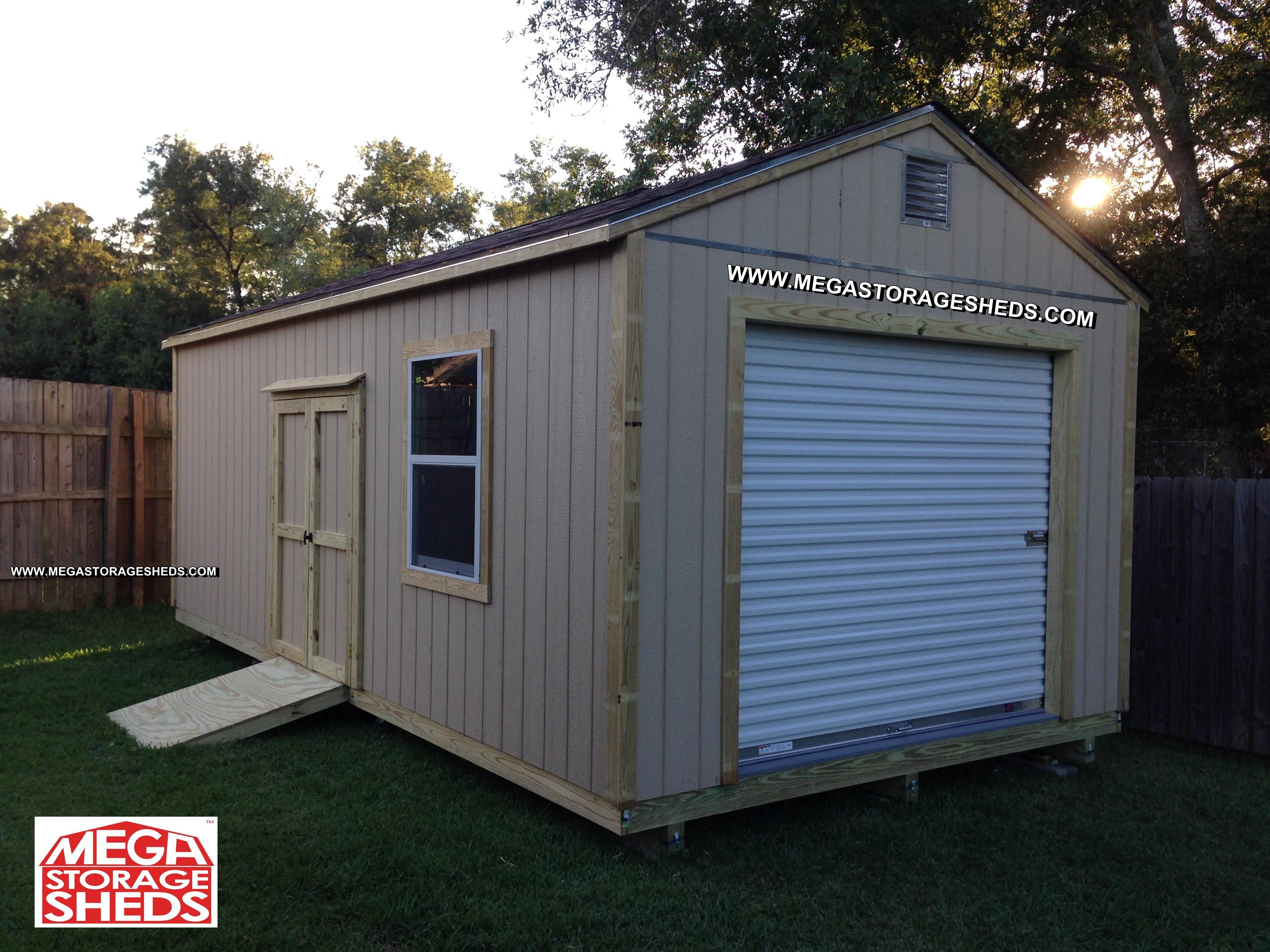 Mega Storage Sheds Options Roll Up Doors regarding dimensions 3264 X 2448