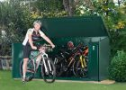 Metal Bike Storage Shed For 29 Inch Bikes Asgard Asgard with proportions 1300 X 970