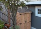 Mini Cedar Storage Shed Do It Yourself Home Projects From Ana pertaining to sizing 1952 X 2592