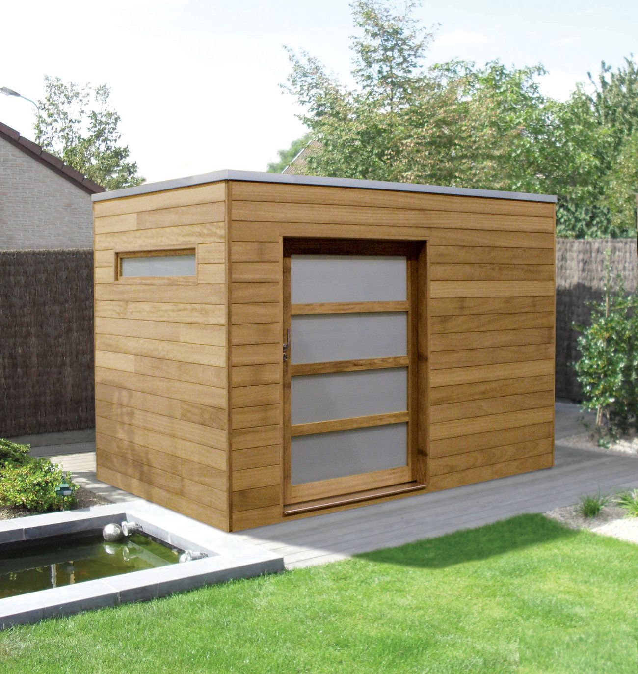 Modern Garden Sheds To Style With Our New Innovative Range for size 1300 X 1373
