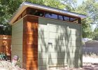 Modern Prefab Storage Shed With Flat Roof Outdoor Prefab Storage in size 1114 X 867