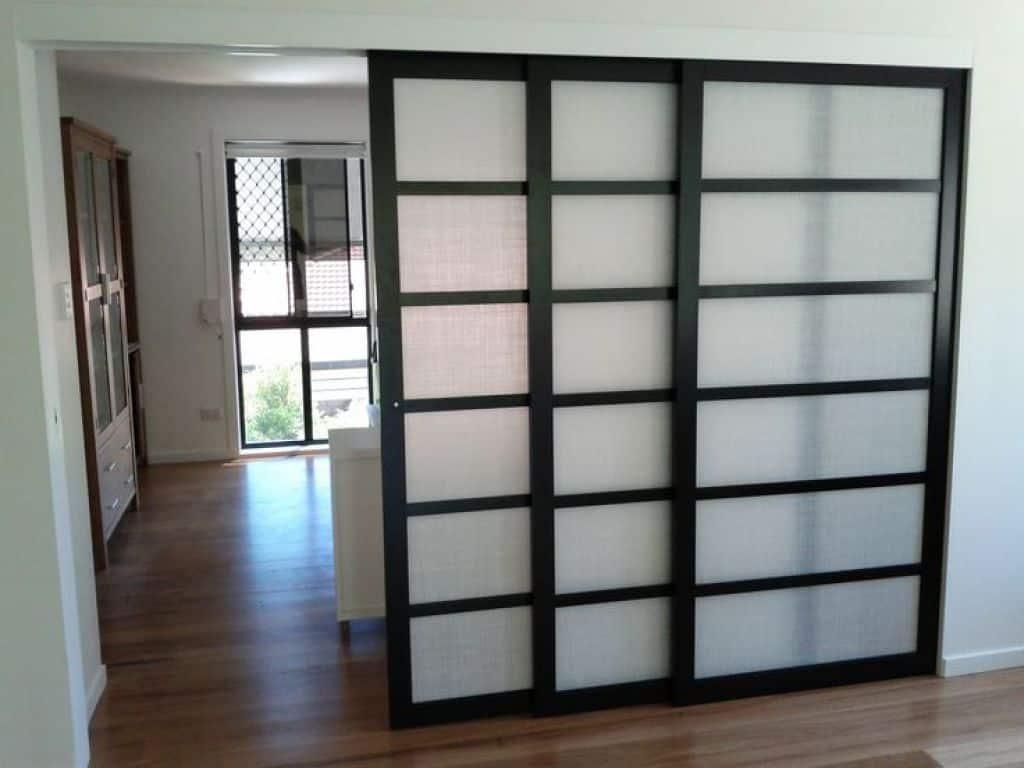 Modern Shoji Screen Door In Sliding Design Simple And Elegant regarding dimensions 1024 X 768