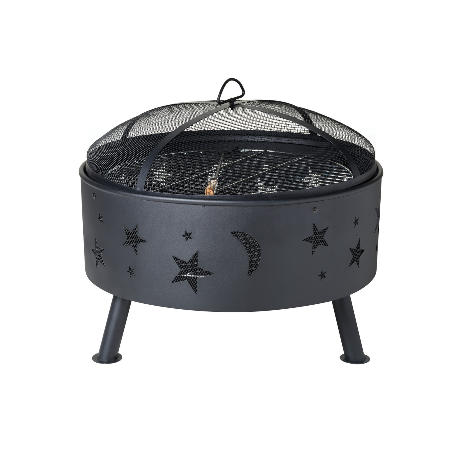 Moon And Stars Fire Pit in proportions 1500 X 1500