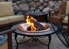 Mosaic 40 Inch Surround Fire Pit With Copper Fire Bowl New House intended for measurements 1600 X 1600