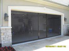 Motorized Roll Up Garage Door Screen Kit inside size 2048 X 1536