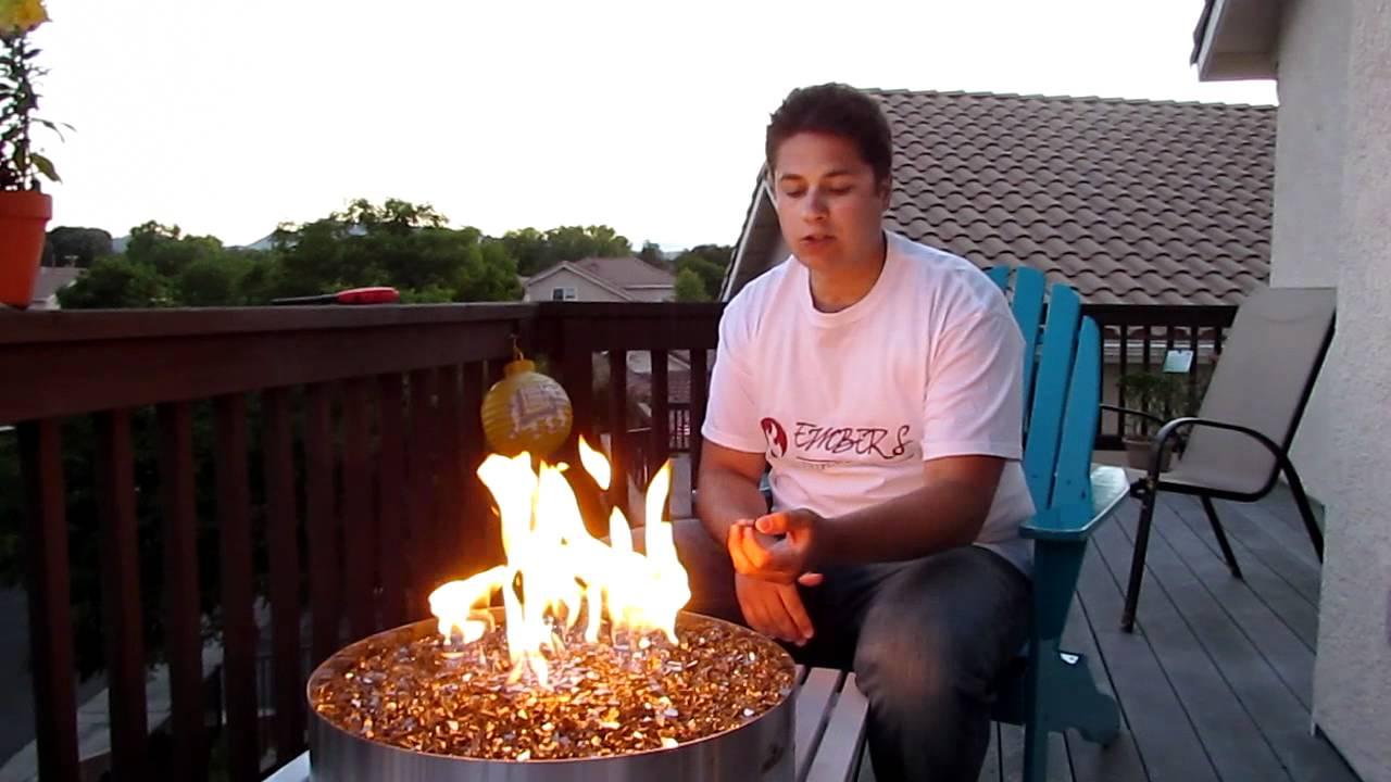 Napoleon Outdoor Patio Flame Gpfg Modern Glass Gas Propane Burning with regard to measurements 1280 X 720