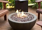 Natural Gas Fireplace Diy Fire Pit Bowl Patio Deck Stone W Cover within sizing 1000 X 1000
