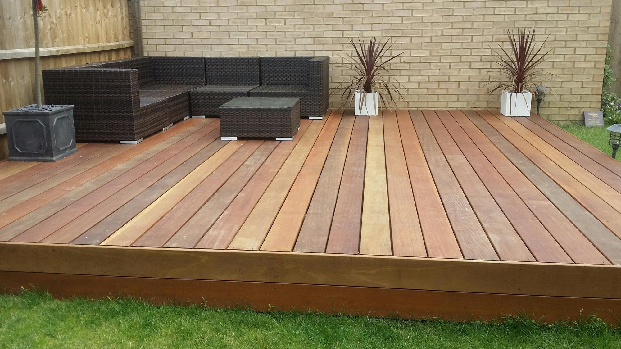 Non Wood Decking Alternatives Home Design Ideas regarding proportions 2000 X 1124