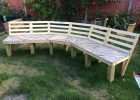 Now Just Needs To Be Painted Upcycled Curved Fire Pit Bench Made with dimensions 1136 X 852