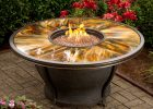 Oakland Living Moonlight Propane Gas Fire Pit Table Reviews Wayfair with regard to measurements 3080 X 3080