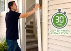 Odl Brisa Retractable Screen Doors 30 Minute Installation Behold with measurements 1500 X 1900