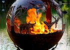 Outback Australia Fire Pit Sphere The Fire Pit Gallery regarding measurements 3141 X 4066