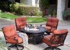 Outdoor Belham Living San Miguel Cast Aluminum Fire Pit Chat Set within dimensions 3200 X 3200