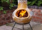 Outdoor Clay Fire Pit Clay Fire Pits Clay Chiminea Chiminea inside sizing 964 X 962