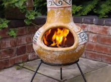 Outdoor Clay Fire Pit Clay Fire Pits Clay Chiminea Chiminea regarding size 964 X 962