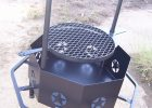 Outdoor Custom Metal Fire Pit With Octagon Fire Pit Shaped And with sizing 1716 X 2576