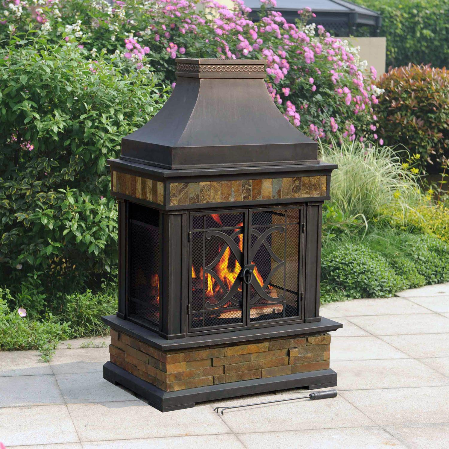 Outdoor Fire Pit Chimney Hood Fire Pit Design Ideas with measurements 1500 X 1500