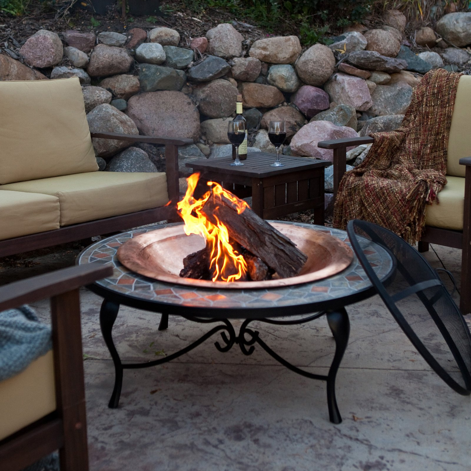 Outdoor Fire Pit Outdoor Fireplace Portable Fire Pit Diy Gas Fire inside proportions 1600 X 1600