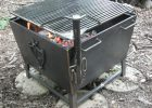 Outdoor Fire Pits And Fire Grates pertaining to proportions 2928 X 2614