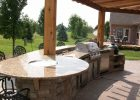 Outdoor Kitchen Firepit Bar Top Outdoor Living Patio Kitchen intended for size 3280 X 2460