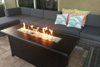 Outdoor Linear Fire Pit And Seating Area On Lanai Better Homes And throughout sizing 3264 X 2448