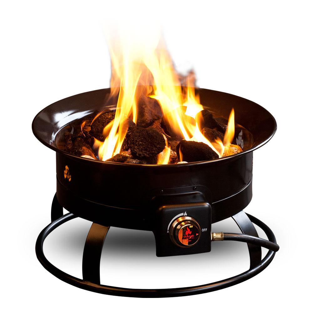 Outland Firebowl Standard 19 In Steel Portable Propane Fire Pit 823 throughout measurements 1000 X 1000