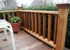 Outside Wooden Deck Railing Ways To Covering A Splintering Deck with regard to proportions 1024 X 768