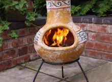 Owning A Clay Chiminea Backyard Fire Pit intended for measurements 1000 X 1000