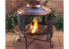 Painting Of Lit Your Outdoor Space Nuance With Chiminea Fire Pit For within size 1154 X 1154