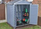 Palram Skylight Anthracite 6 X 5 Ft Polycarbonate Shed Gardensite throughout sizing 999 X 867