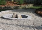 Pea Gravel Fire Pit We Already Have The Pea Gravel Area For for measurements 1067 X 1600