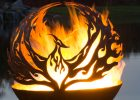 Phoenix Rising Fire Pit Sphere The Fire Pit Gallery for measurements 2395 X 3099