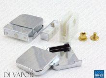 Plastic Glass Shower Door Pivot Hinge For 6mm Glass Clamp Pack Of 2 regarding measurements 1500 X 1211
